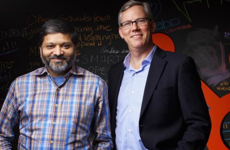 Brian Halligan and Dharmesh Shah
