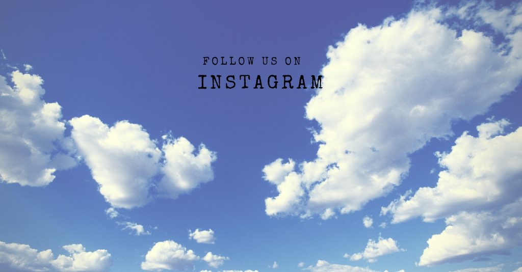 Follow us on instagram header